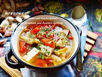 柑仔蜜香菇豆腐湯