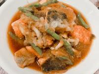 霙煮鮭魚(雪煮鮭魚)