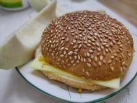起司蛋漢堡