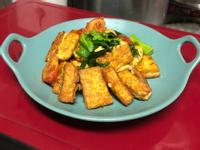 香煎蒜味雞蛋豆腐-香酥軟嫩