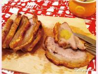 脆皮烤豬佐新鮮蘋果泥