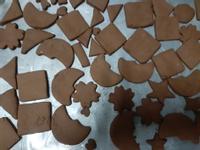 簡單手工餅乾-可可口味【壓模餅乾】