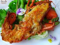 焗烤龍蝦★簡易的低醣龍蝦料理