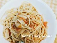 蒜香櫻花蝦義大利麵
