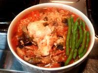 自製辛拉麵湯頭