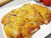 「亨氏番茄醬‧100%純天然」大雜燴方pizza