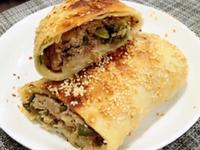 蔥香肉餅(水波爐料理)