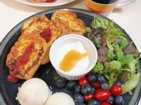 【早餐】法國麵包法式吐司