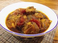 梅汁蕃茄燉豬肉
