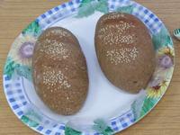綠豆沙米麵包