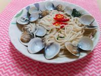 蛤蜊QQ麵~快速上桌