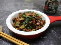 塔香炒淡菜(下酒菜)