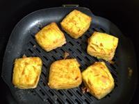 氣炸鍋料理-酥炸雞蛋豆腐