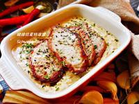 豬排佮夏洛特醬