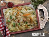 蠔油白菜炒粉絲