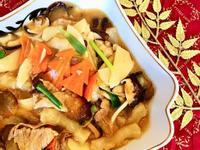 年菜料理 <海鮮> 海參蹄筋燴鵪鶉蛋