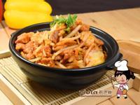 泡菜銀芽炒肉絲