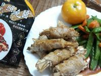 十分鐘年菜上桌-照燒杏菇肉捲