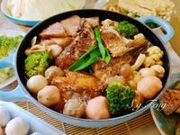 沙茶芋頭鱸魚鍋(砂鍋魚頭)