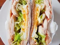 義式雞肉蔬菜三明治