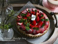 草莓優格生乳塔