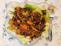 牛肉泡菜沙拉