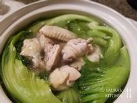 芥菜雞湯(刈菜雞/長年菜雞湯)