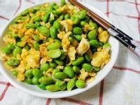 高蛋白-毛豆炒蛋