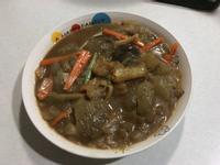 年菜料理~蹄筋煨海參