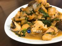 【家常菜】蕈菇奶油燒雞(15分鐘上菜)