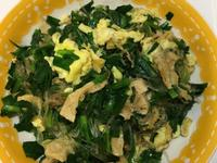 韭菜粉絲炒蛋
