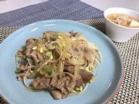 醬炒豆芽五花肉
