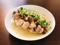 蔥油菇菇雞(電鍋料理)