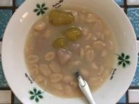 懶人式地瓜、芋圓煮法 花生牛奶地瓜、芋圓