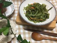 韓式 炒海帶絲(미역줄기 볶음)