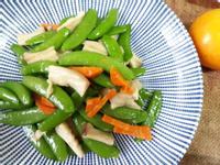 十分鐘年菜上桌-甜豆炒杏鮑菇