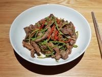 香根炒牛肉