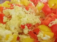 甜椒炒蛋~簡單快速健康料理