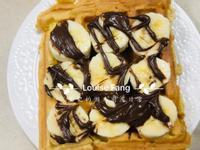 44.香蕉巧克力鬆餅