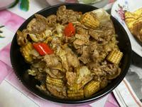 沙茶炒豬肉