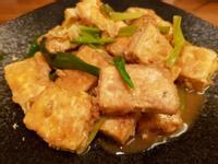 紅燒蔥豆腐