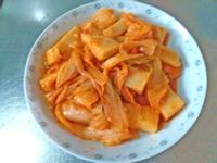 韓式泡菜蘿蔔糕*萍姊