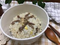 韓式黃豆芽拌飯(콩나물밥)簡易電鍋版