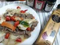 十分鐘上菜-黑醋酸牛肉高麗菜-去脂料理
