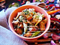 豆油燒雞肉佮豆腐