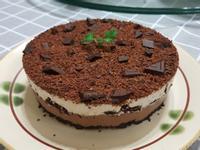 Oreo巧克力香蕉慕斯蛋糕(免烤)