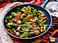 青花菜炒雞肉
