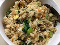 蔬菜炒飯 簡單料理