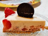 草莓Oreo生乳酪蛋糕