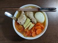 蔬菜雞腿湯